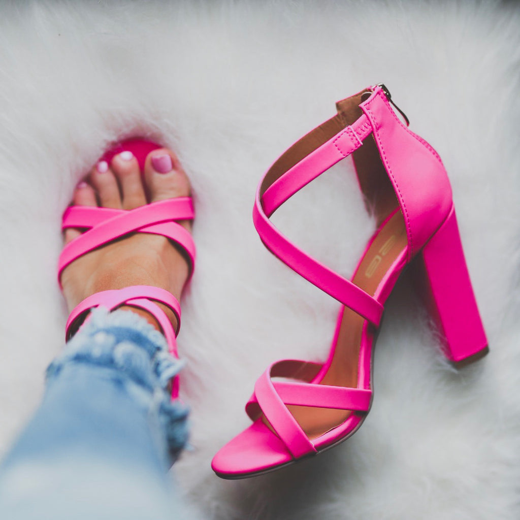 Hello Gorgeous Heels - Hot Pink