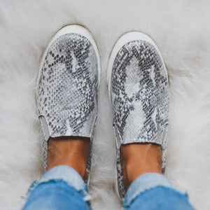 Python Slip On Sneakers