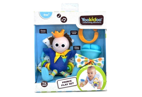 Yookidoo Royal Rattle Prince-Little Kingdom