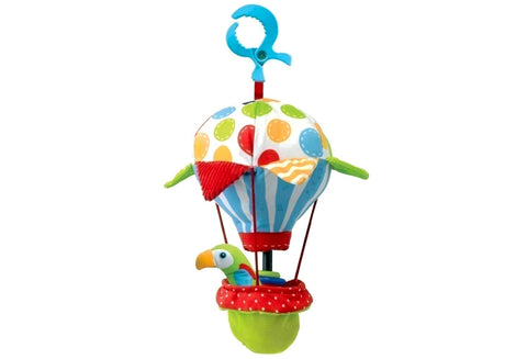 Yookidoo Parrot 'N Balloon Tap Me Rattle-Little Kingdom