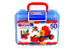 Bristle Blocks - Bristle Blocks In Case 50 Pce-Little Kingdom