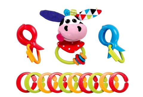 Yookidoo - Clips, Rattle 'N Links Collection-Little Kingdom