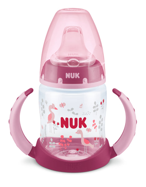 NUK First Choice Bottle Learner With Non Spill Spout-Learner Bottle-Little Kingdom