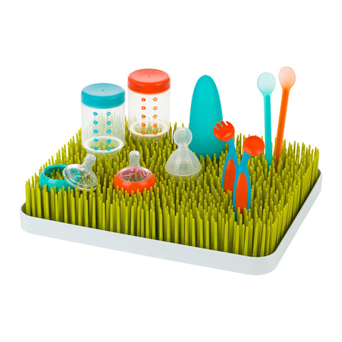 Boon Lawn Countertop Drying Rack Spring Green-Drying Rack-Little Kingdom