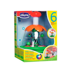 Chicco Baby Sense Rainbow Spinner-Baby Toy-Little Kingdom