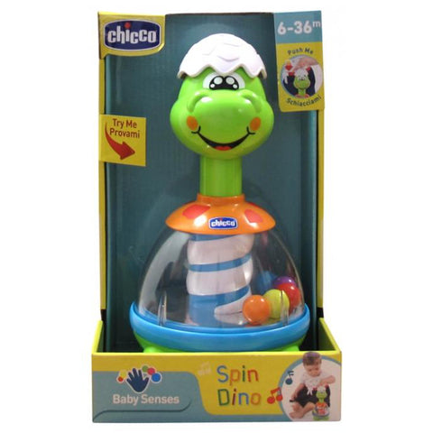 Chicco Baby Sense Spin Dino-Baby Toy-Little Kingdom