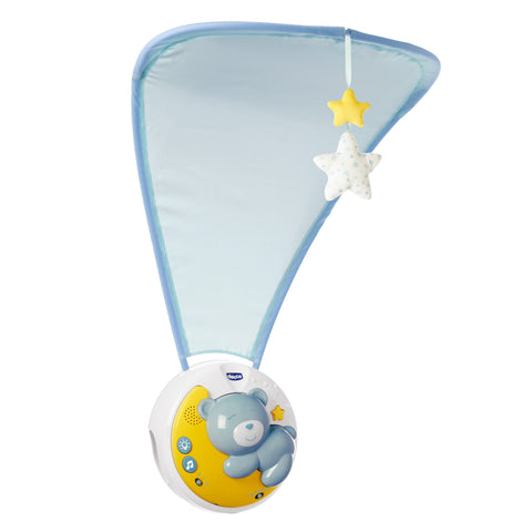 Chicco First Dreams Next 2 Moon-Projection Cot Mobie-Little Kingdom