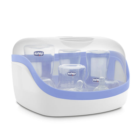 Chicco Microwave Sterilizer with Milk Container-Microwave Sterilizer-Little Kingdom