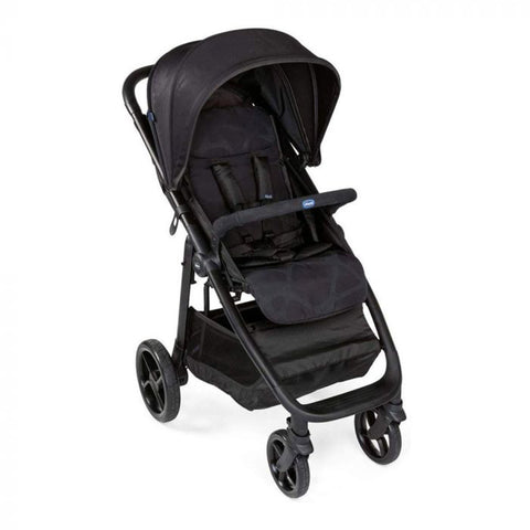 Chicco Multi-ride Stroller Black-Strollers-Little Kingdom