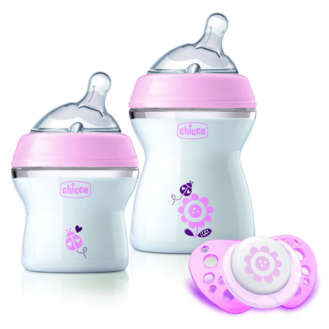 Chicco Nat Feeling Feeding Gift Set Collections-Bottle Set-Little Kingdom
