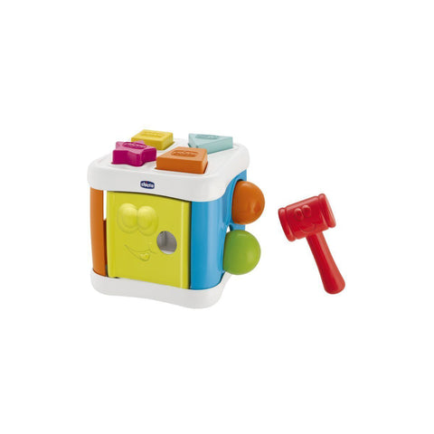Chicco Smart 2 play 2 in 1 Sort & Beat Cube-Beat Cube-Little Kingdom