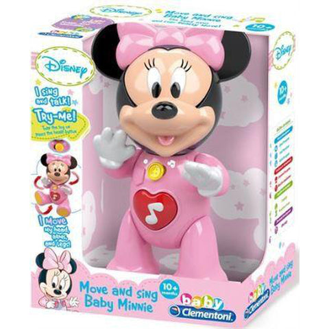 Disney Babies Clementoni Minnie Movin Activity Doll-Moving Doll-Little Kingdom