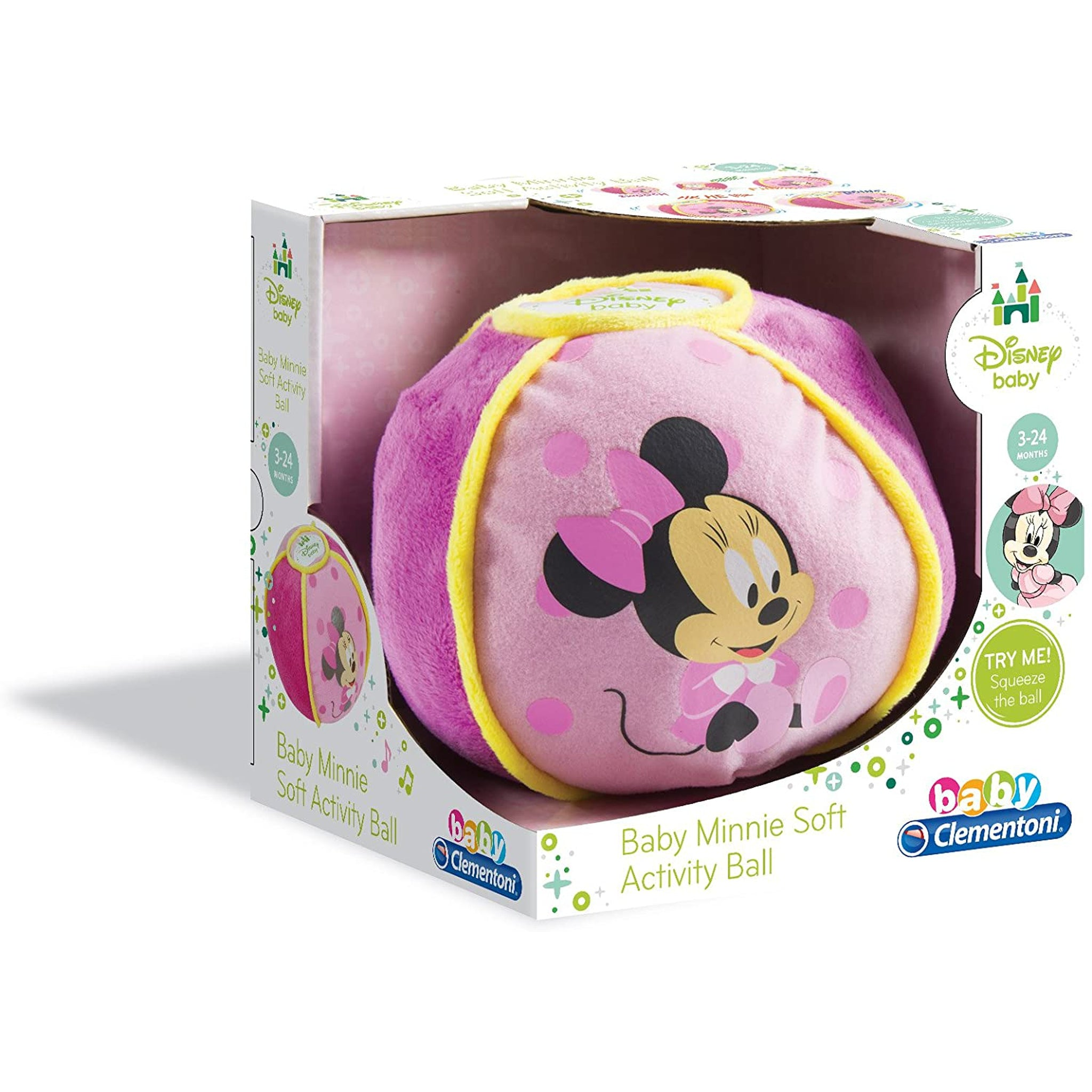 Disney Babies Clementoni Minnie Soft Ball-Sound ball-Little Kingdom