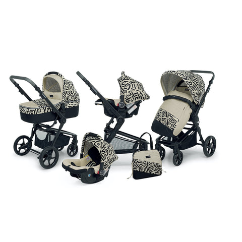 Foppapedretti 3 Chic Travel System-Travel System-Little Kingdom