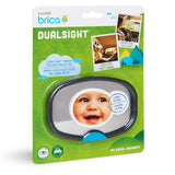Munchkin Brica Deluxe Stay-In-Place Baby Mirror-Baby Car Mirror-Little Kingdom