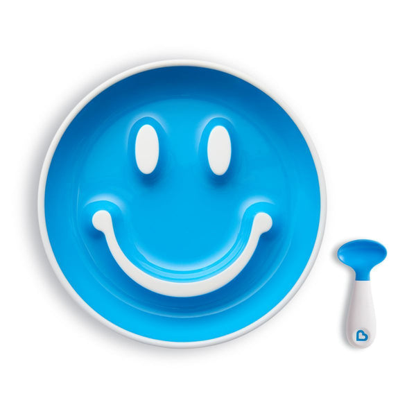 Munchkin Smile & Scoop Plate Collection-Suction Plates-Little Kingdom