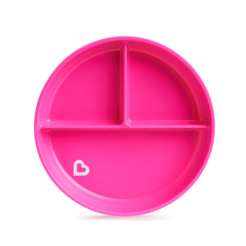 Munchkin Stay Put Suction Plate Collection-Suction Bowls-Little Kingdom