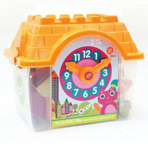 Oops 30 Piece O Clock Learn Time-Toy Clock-Little Kingdom