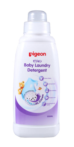 Pigeon Baby Laundry Detergent Bottle 500ml-Laundry Detergent Bottle-Little Kingdom