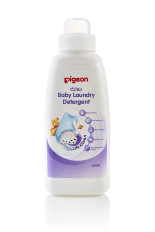 Pigeon Baby Laundry Detergent Bottle 600ml-Baby Laundry Detergent Bottle-Little Kingdom