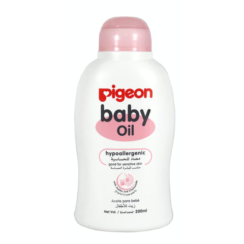 Pigeon Baby Oil 200ml-Baby Oil-Little Kingdom