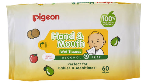 Pigeon Hand & Mouth Wipes Collection-Hand & Mouth Wipes-Little Kingdom