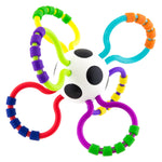 Sassy Grip & Rattle Ball-Baby Rattle-Little Kingdom
