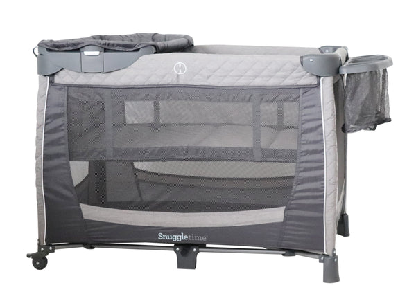 Snuggletime Camp Cot with Changer and Side Storage-Travel Camper Cot-Little Kingdom
