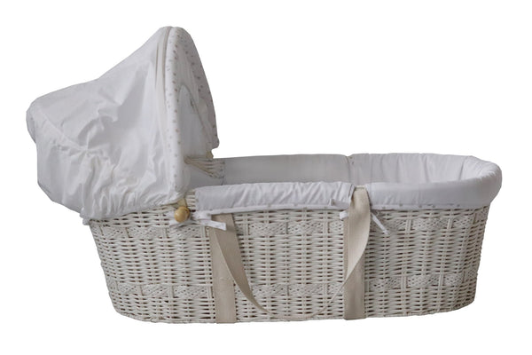 Snuggletime Moses Basket and Stand Collection-Moses Basket-Little Kingdom