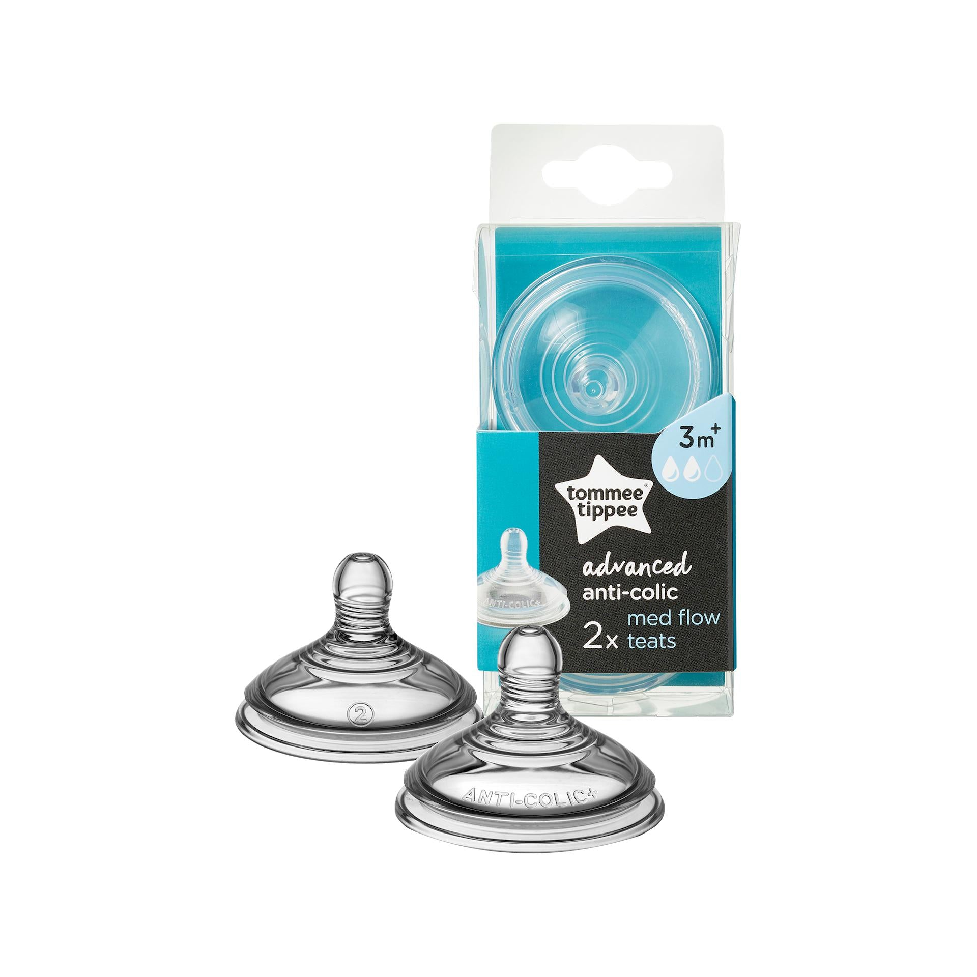 Tommee Tippee Advanced Anti-Colic Teat Collection-Anti-Colic Teat-Little Kingdom