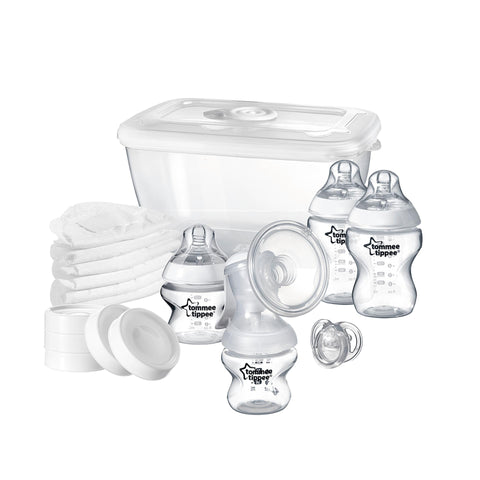 Tommee Tippee Closer to Nature Breast Feeding Starter Kit-Breast Feeding Starter Kit-Little Kingdom