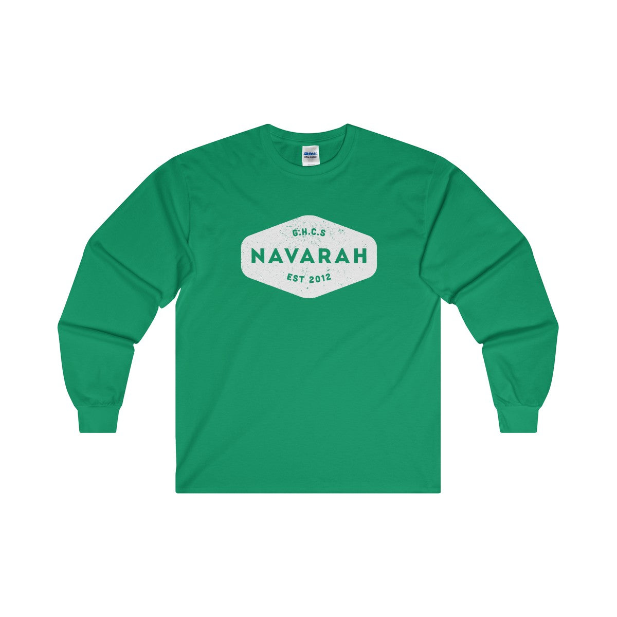 Navarah Logo Ultra Cotton Long Sleeve T-Shirt