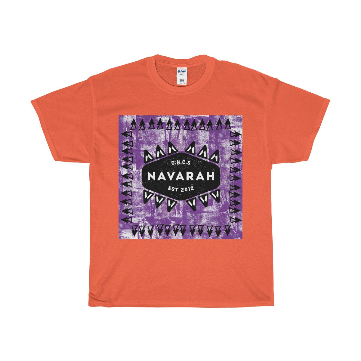 Navarah Purple Tie Dye T-Shirt