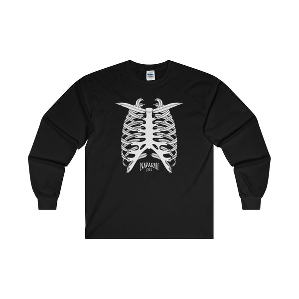 Leaf Cage Ultra Cotton Long Sleeve T-Shirt