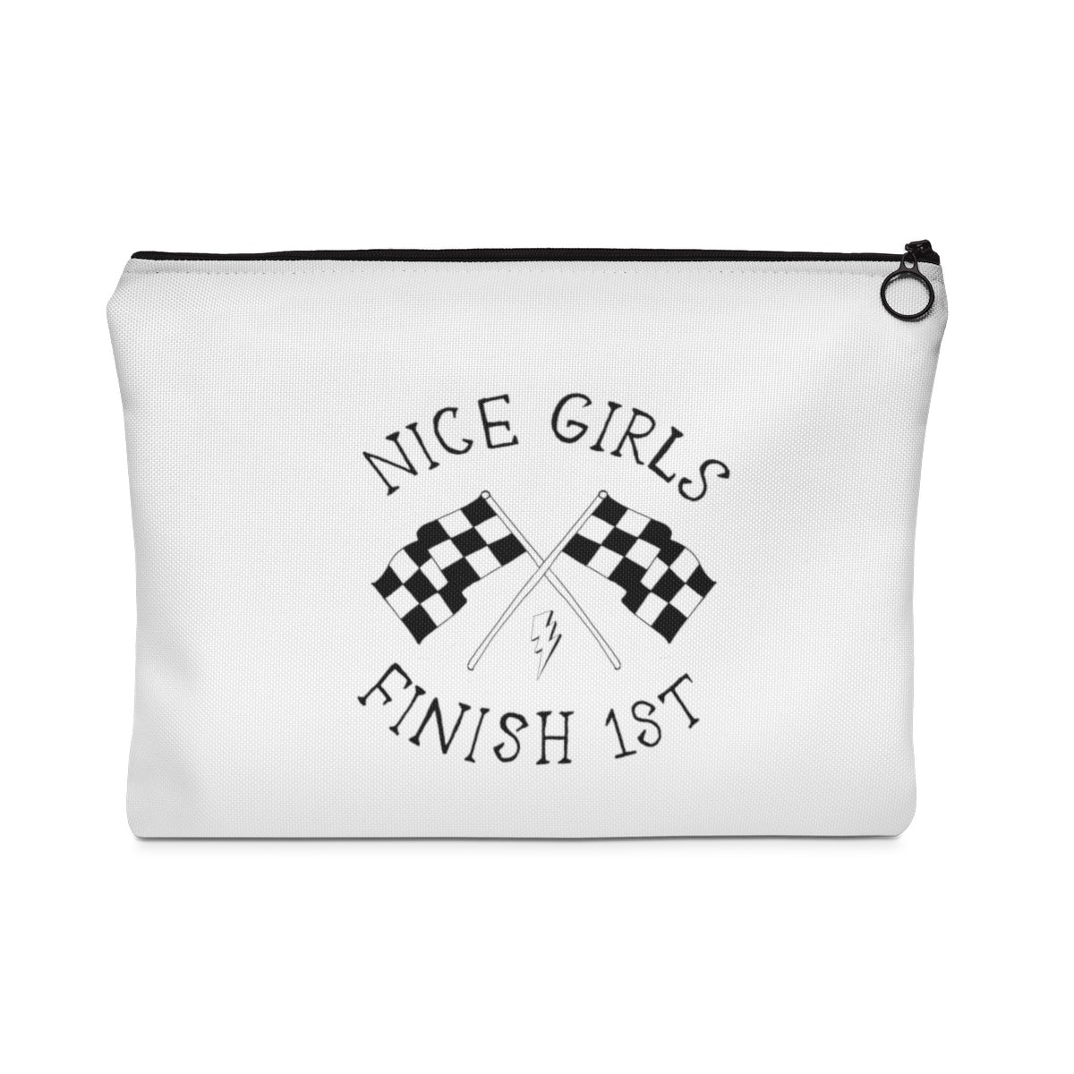 Nice Girls Flat Pouch Travel Wallet/Tablet/Organiser