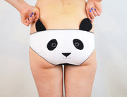 panda face panties with ears for womens lingerie by knickerocker
