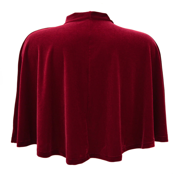 Thor Inspired Red Velvet Cape by knickerocker