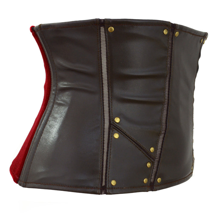 Thor Inspired Waspie Style Corset