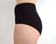 black high waisted panties for womens lingerie by knickerocker