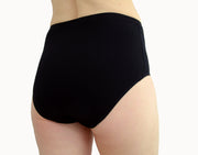 Black Panties with a White Vulva Print