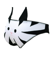 Cute Black and White kitten panties for womens underwear by knickerocker