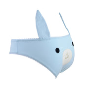 blue bunny panties with ears by knickerocker