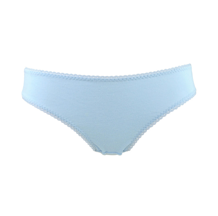 blue panties briefs lingerie by knickerocker