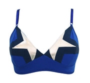 Captain america inspired bra by knickerocker for women