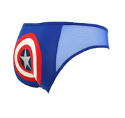 blue captain america lingerie by knickerocker