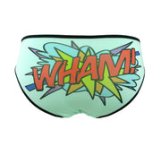 wham comic book word panties for women by knickerocker