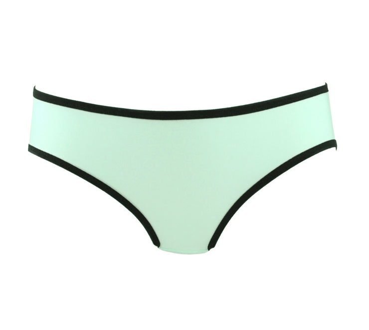 mint green lingerie by knickerocker