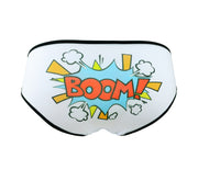 Boom comic book word panties by knickerocker