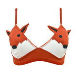 Fox face bra lingerie by knickerocker