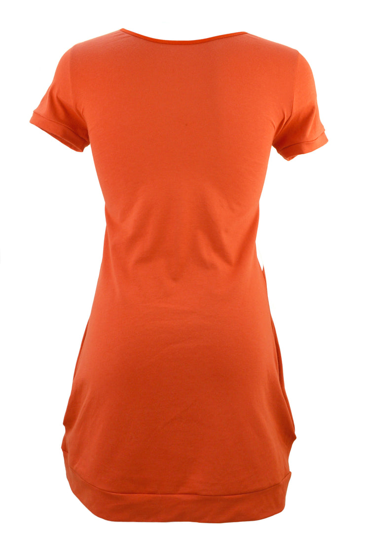 back of fox face t shirt dress by knickerocker